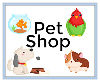 pretend play pet shop