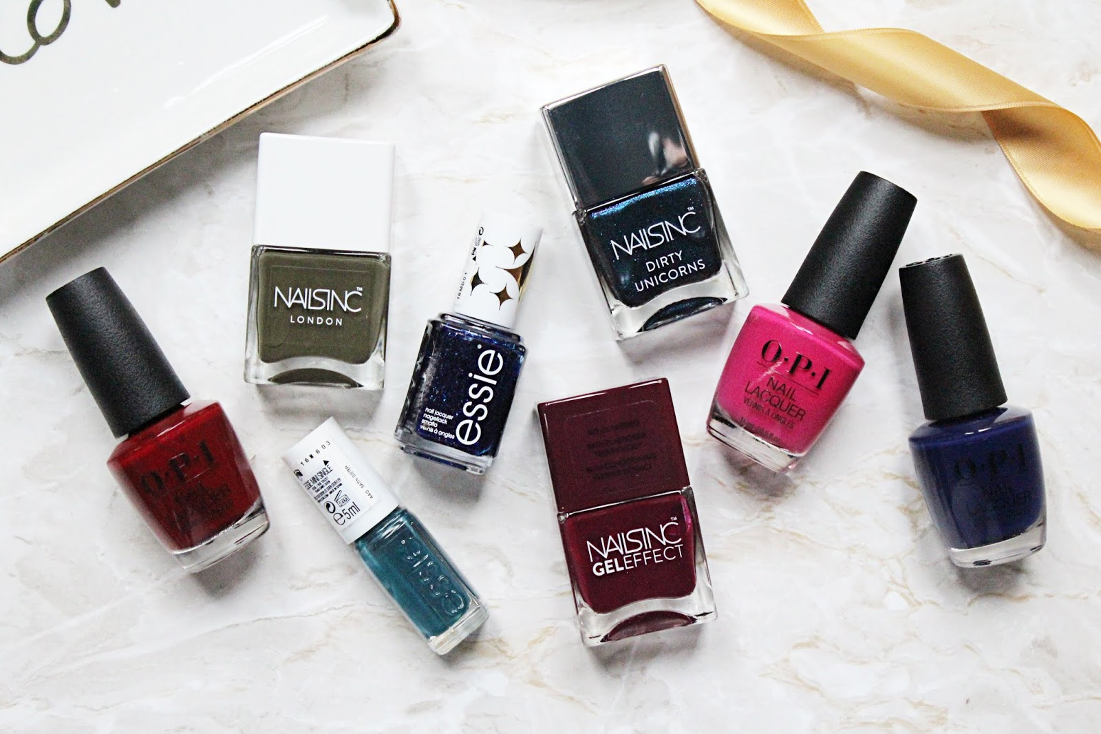 Current Favourite Nail Polishes - Winter 2019