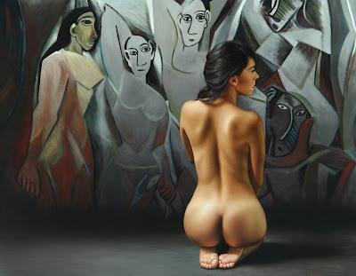 hiperrealismo-oleo-mujer