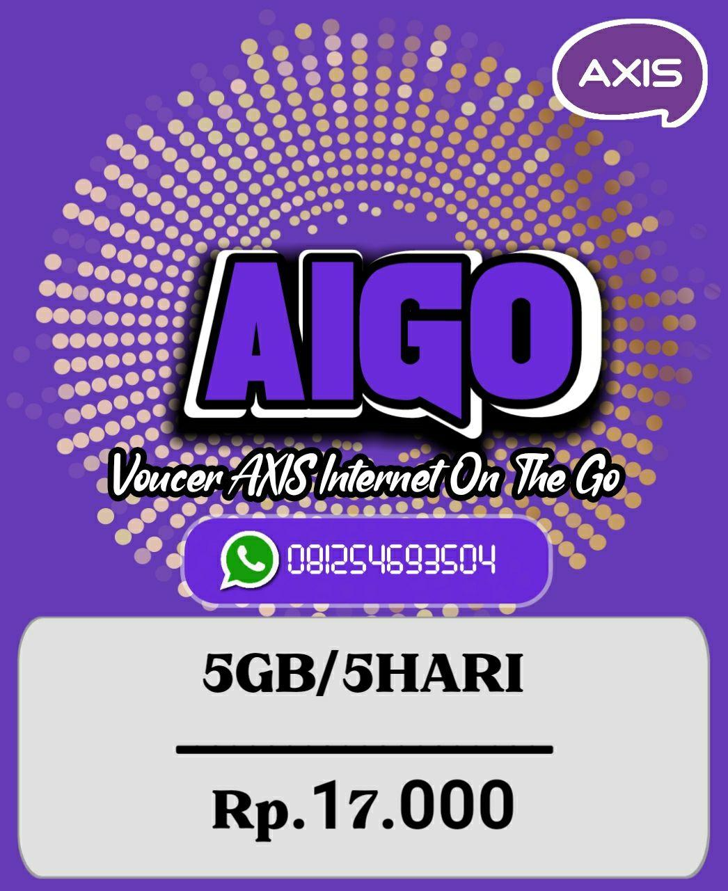 Voucer Axis 5GB/5Hari