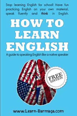 كتاب كيف تتعلم اللغة الإنجليزية ( دليل لتتحدث اللغة الإنجليزية باللهجة الأصلية )