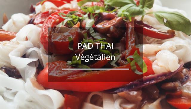 Recette rapide de Pad Thai végan