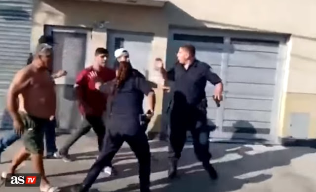 Non rispettano la quarantena e attaccano la polizia che stava cercando di arrestarli in Argentina