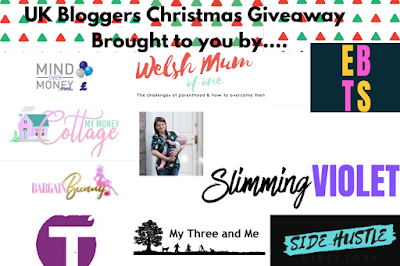 A collage of some more bloggers taking part in this giveaway