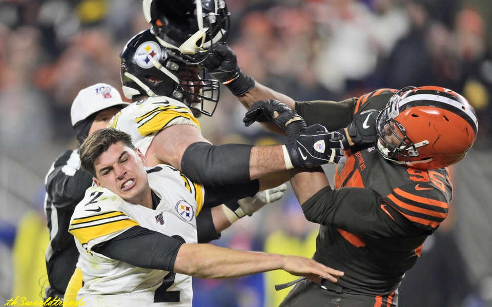 Myles Garrett suspended for Steelers vs. Browns fight: Helmet swing, fallout, player reactions, a lot of to graspEverything you would like to know concerning the incident involving Garrett, Mason Rudolph, Maurkice Pouncey et al.