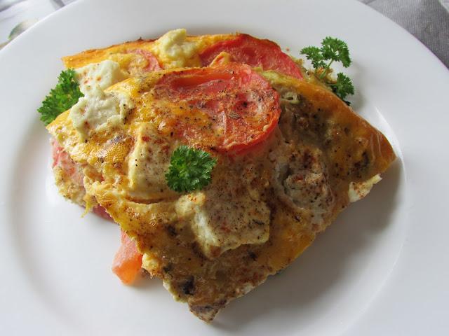 omlet z pieca