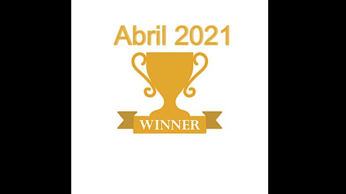 Vencedores do Sorteio de Abril 2021
