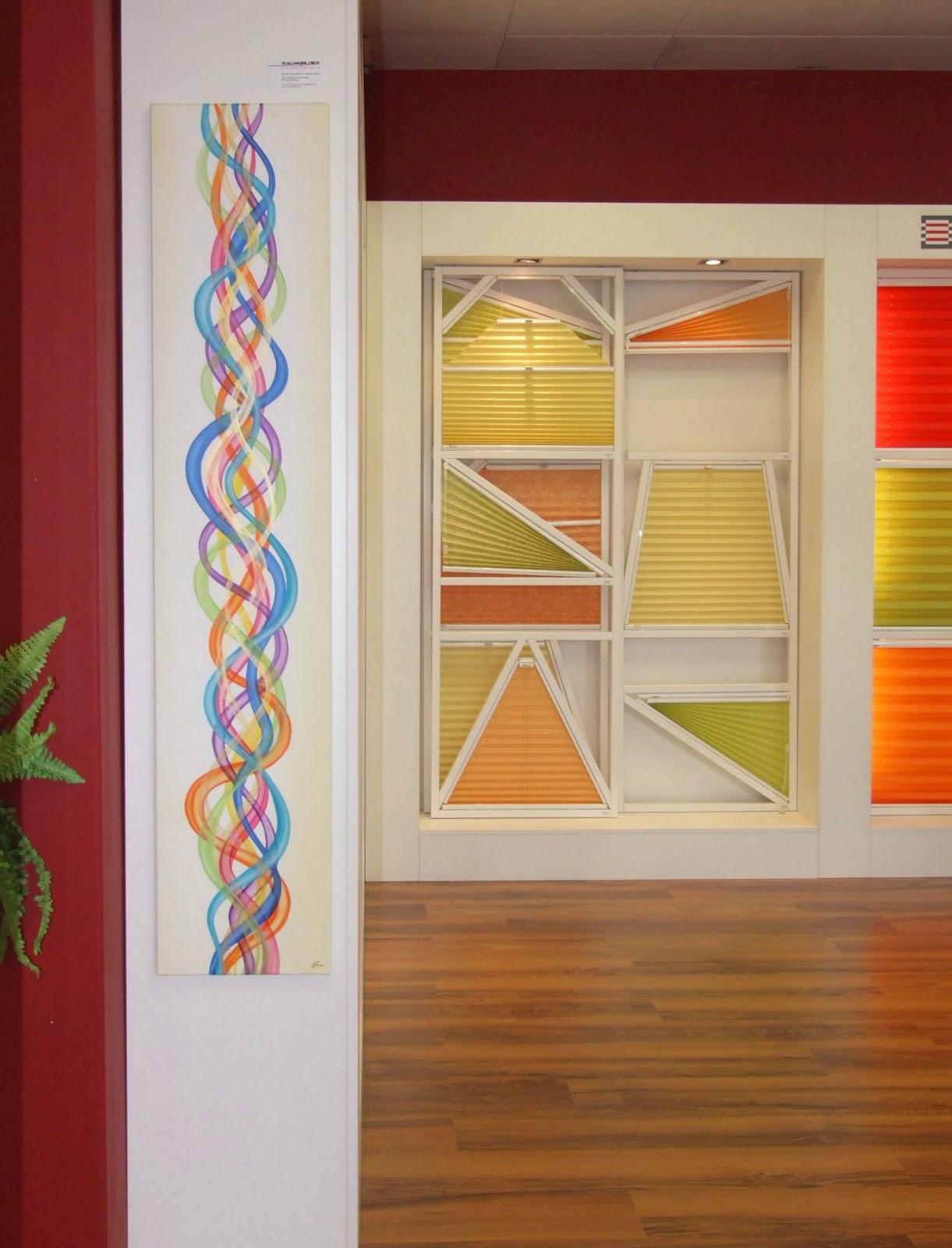 netzwerke feng shui malerei auf der para vital messe. Black Bedroom Furniture Sets. Home Design Ideas