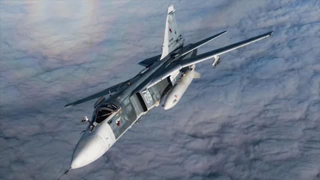 Rusia bombardea a terroristas que pretendían atacar al Ejército sirio