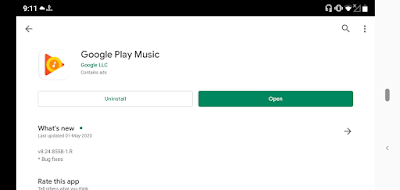 Google Play Music is stop ?