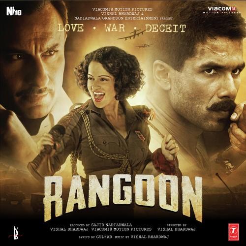 Rangoon 2017 Hindi Movie original CD Front cover Poster wallpaper