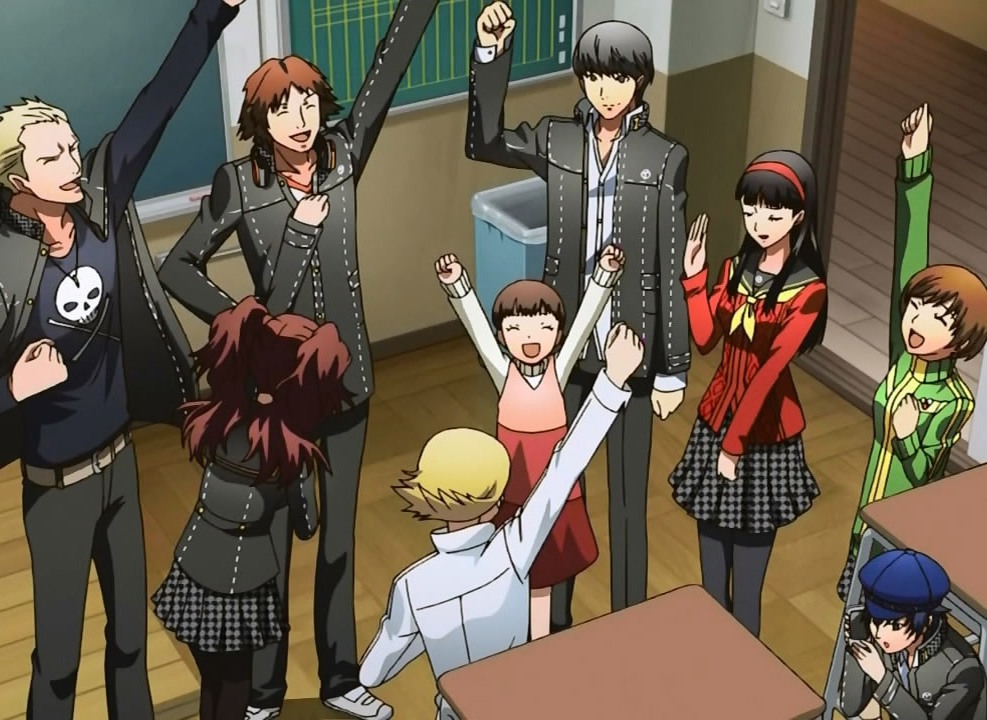 persona 4 relationships