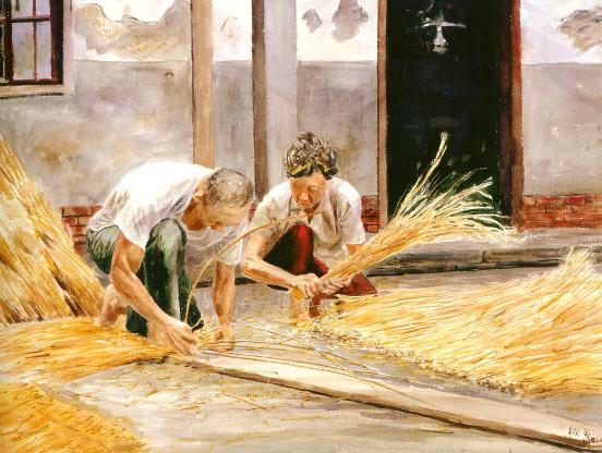 臺灣農產品標準化推廣協會: 農村生活的畫