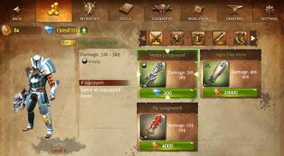 Dungeon Hunter 4 mod apk game
