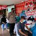Hari Pertama Vaksinasi Merdeka Candi, Polres Purbalingga Sasar Komunitas Masyarakat