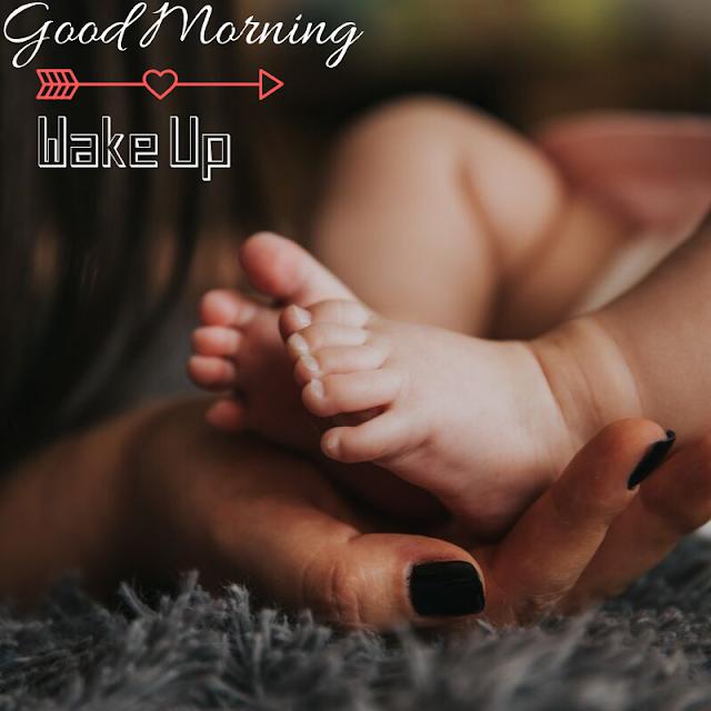 Baby leg  Good Morning Images