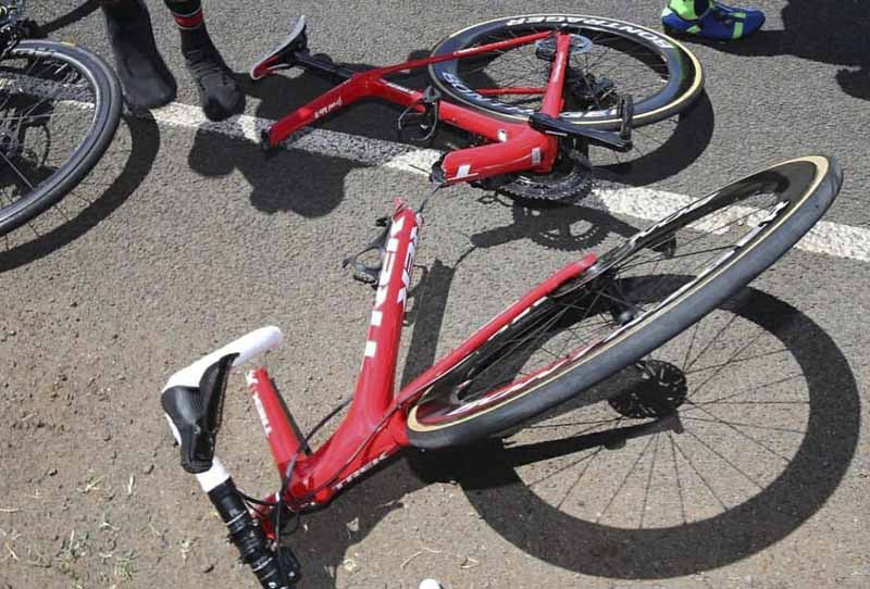 La Espectacular Rotura De Un Cuadro De Bicicleta Que Ha Revolucionado La Red
