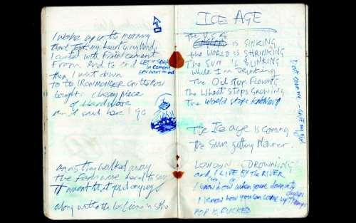 Το σημειωματάριο του Joe Strummers