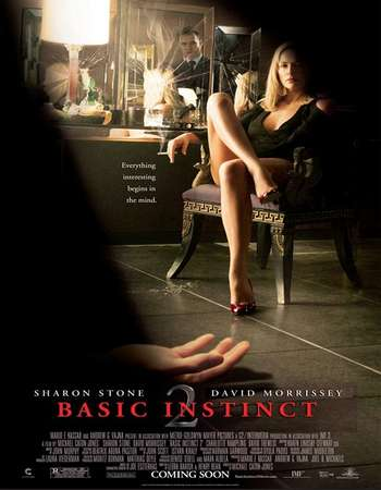 Poster Of Basic Instinct 2 2006 Hindi Dual Audio 500MB BluRay 720p HEVC Free Download Watch Online downloadhub.in