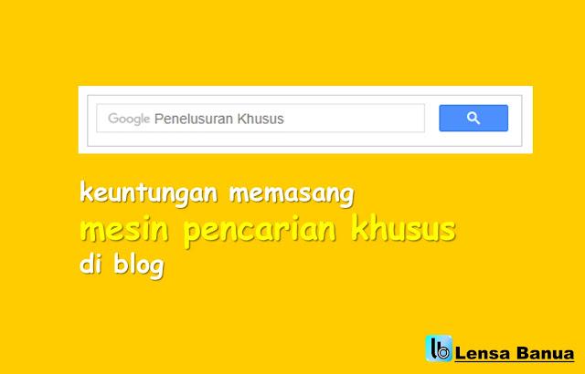 mesin pencarian khusus, penelusuran google, kotak pencarian