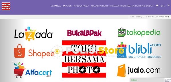 Bersama Photo - Verifikasi Toko Online Aman dan Terpercaya - Polisi Store