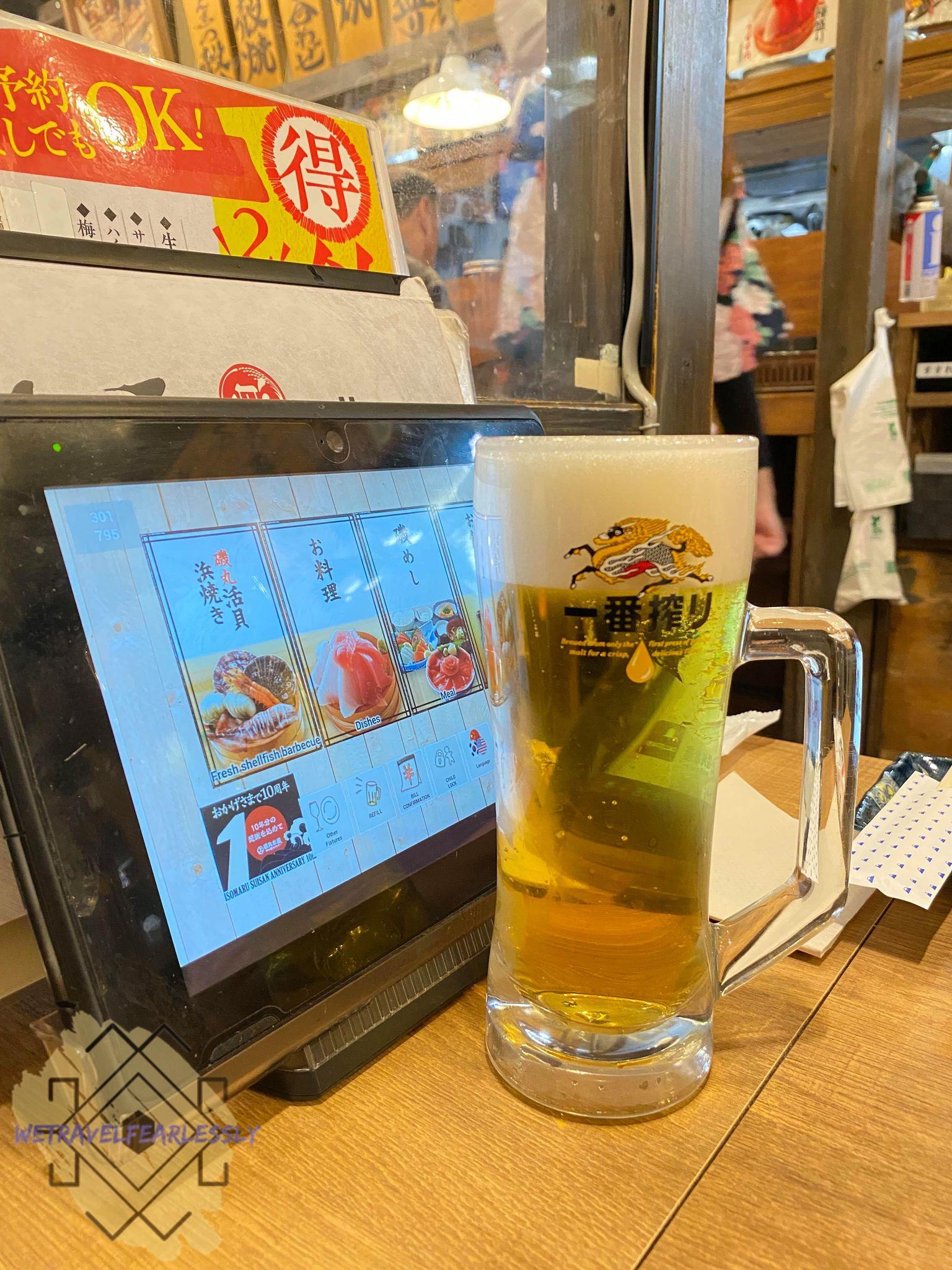 Isomaru Suisan in Yokohama - WTF Food Review