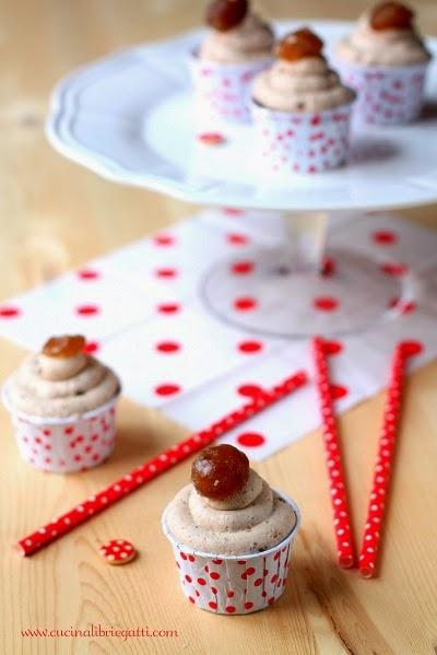 cupcake cioccolato castagne