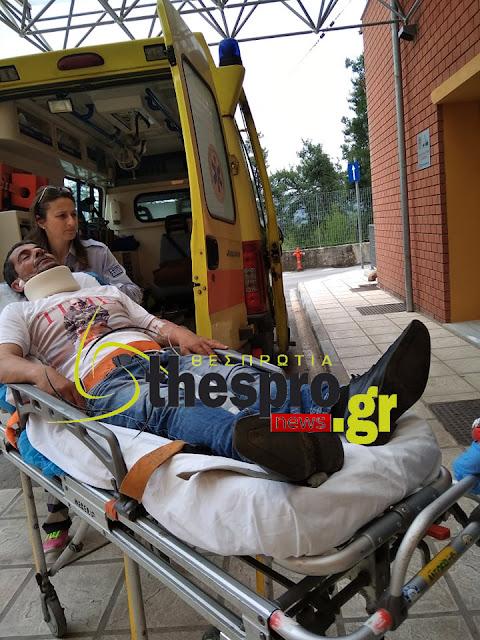 Ηγουμενίτσα: Στο νοσοκομείο Φιλιατών ο υποψήφιος στη Νέα Σελεύκεια (+ΦΩΤΟ)