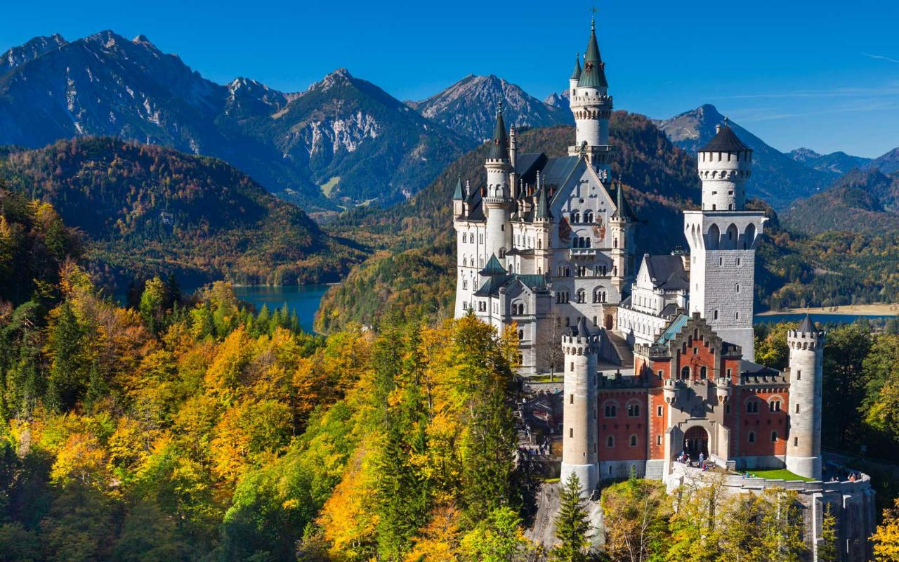 5. Castelo de Neuschwanstein (Alemanha)