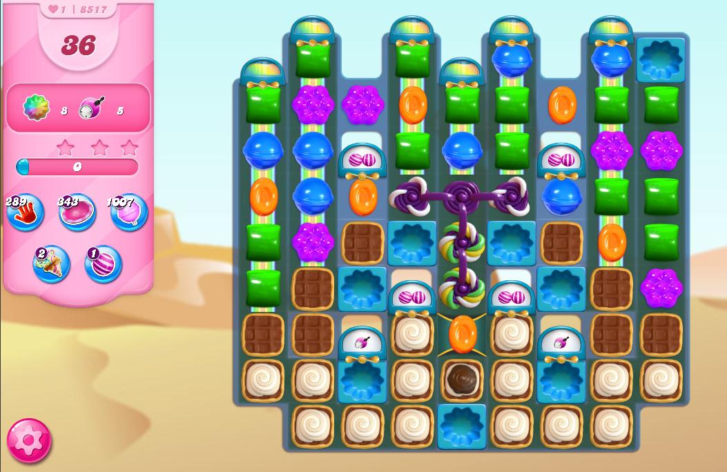 Candy Crush Saga level 8517