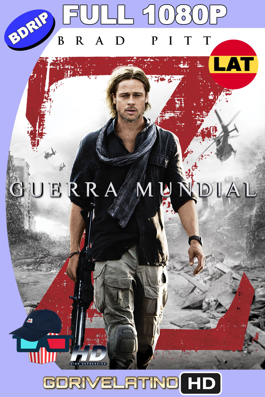 Guerra Mundial Z (2013) [EXTENDED] BDRip FULL 1080p Latino-Ingles MKV
