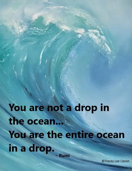 Ocean Rumi Quote