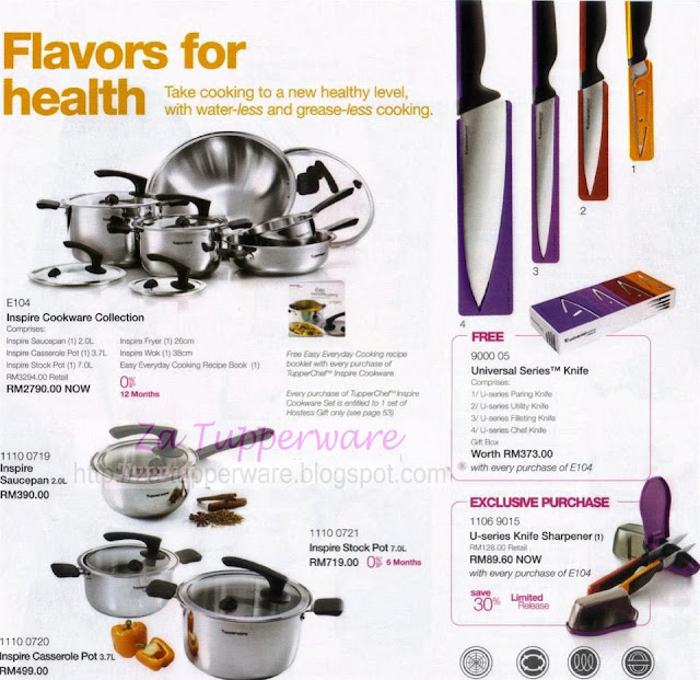 Za Tupperware Brands Malaysia Catalogue 11th February