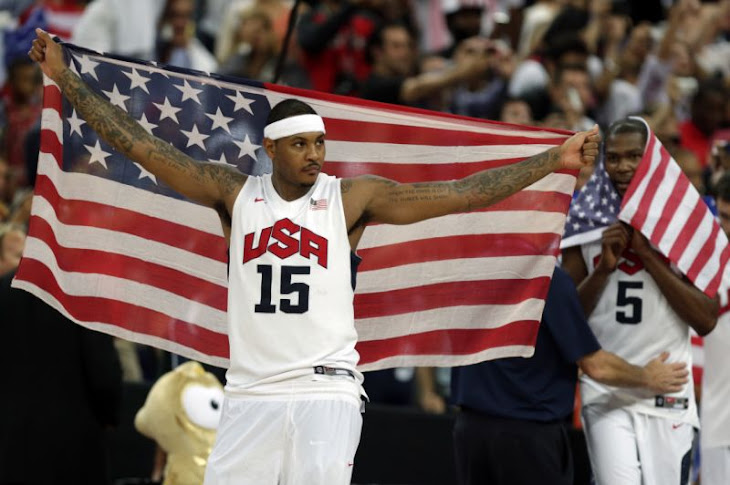 Carmelo Anthony Denied To Play For Team USA