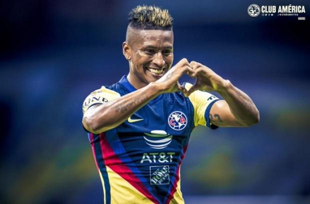 Pedro Aquino: mire su primer gol con la camiseta del América de México