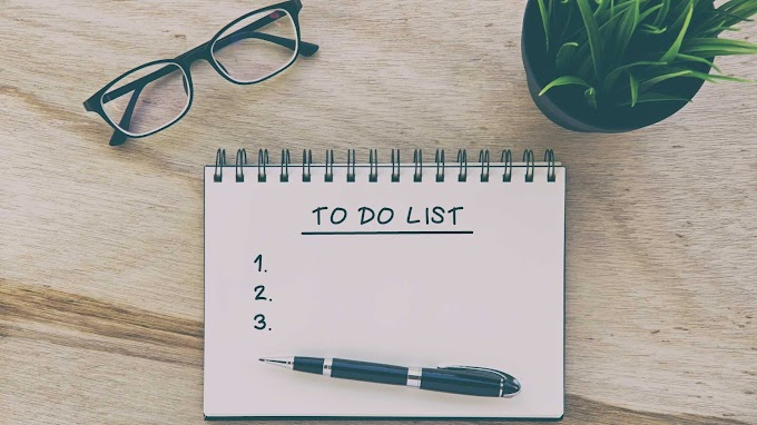 Do You Know How To Write A To-do List? Learn From These Simple Tips