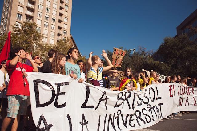 Протестное движение в Барселоне
