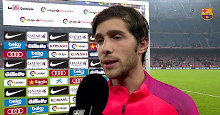 After Bayern defeat, we realised things has to change: Sergi Roberto reflect on Bayern 8-2 defeat