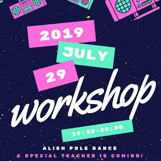 ALISH POLE DANCE WORK SHOP information