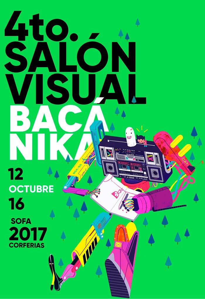 Convocatoria. Salón Visual Bacánika 2017