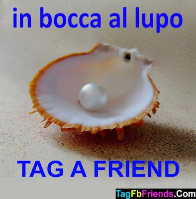 Good luck in Italian language