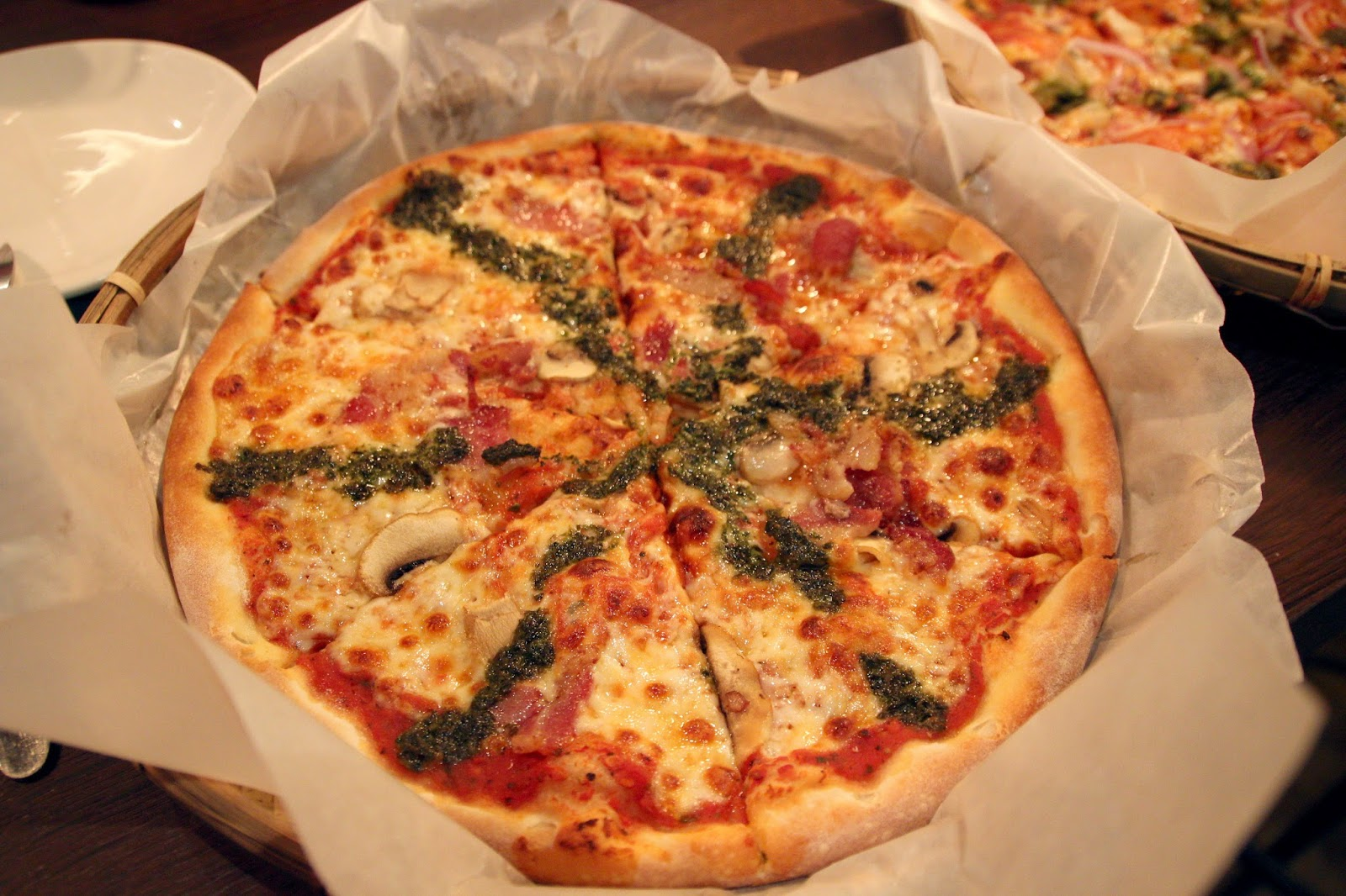 嘉義手在披薩