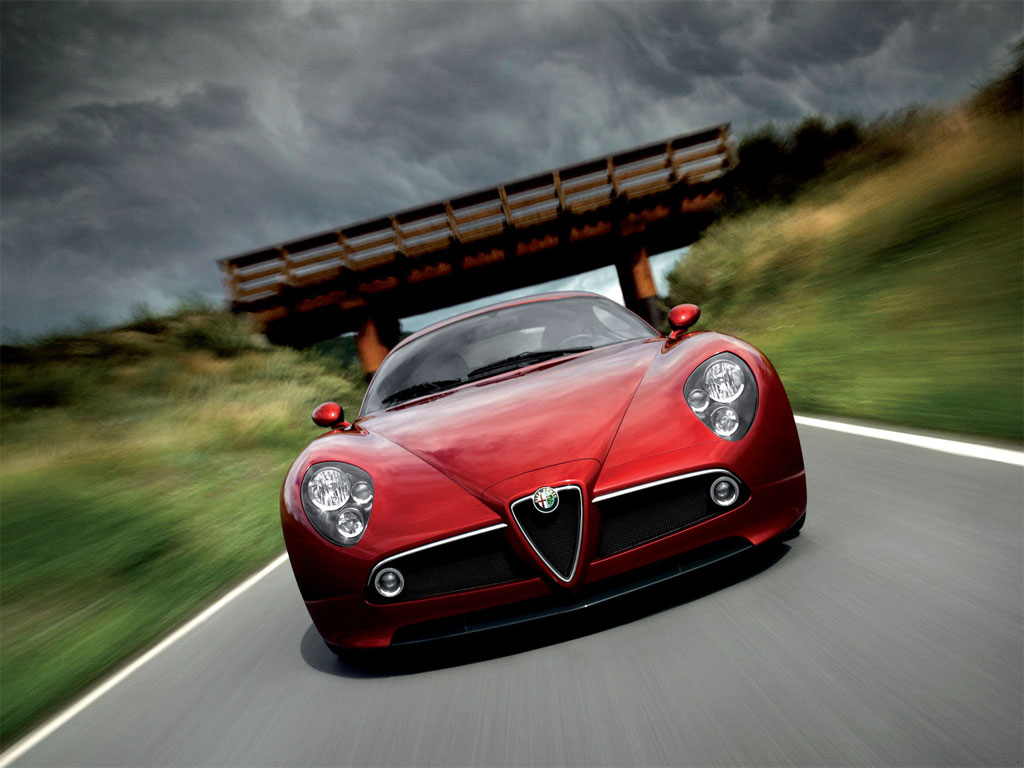 World Of Cars: Alfa Romeo 8c
