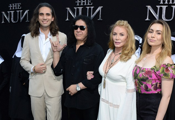 Simmons Family Attend THE NUN premiere