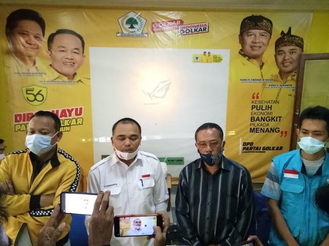 Hasil Tabulasi Internal, Paslon Nomor Urut 1 Nyatakan Kemenangan di Pilkada 2020 Bandung