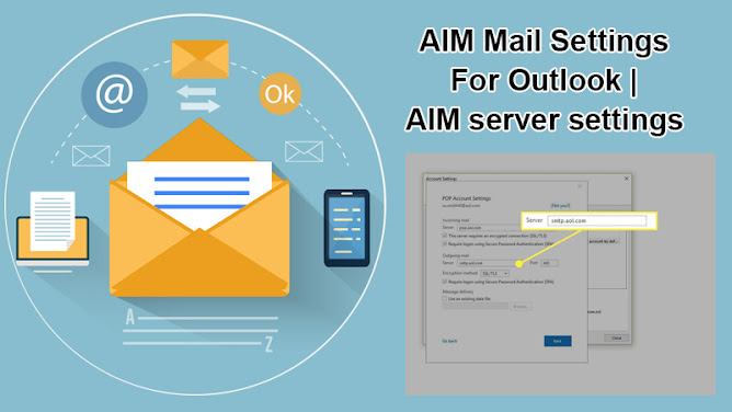 AIM mail settings