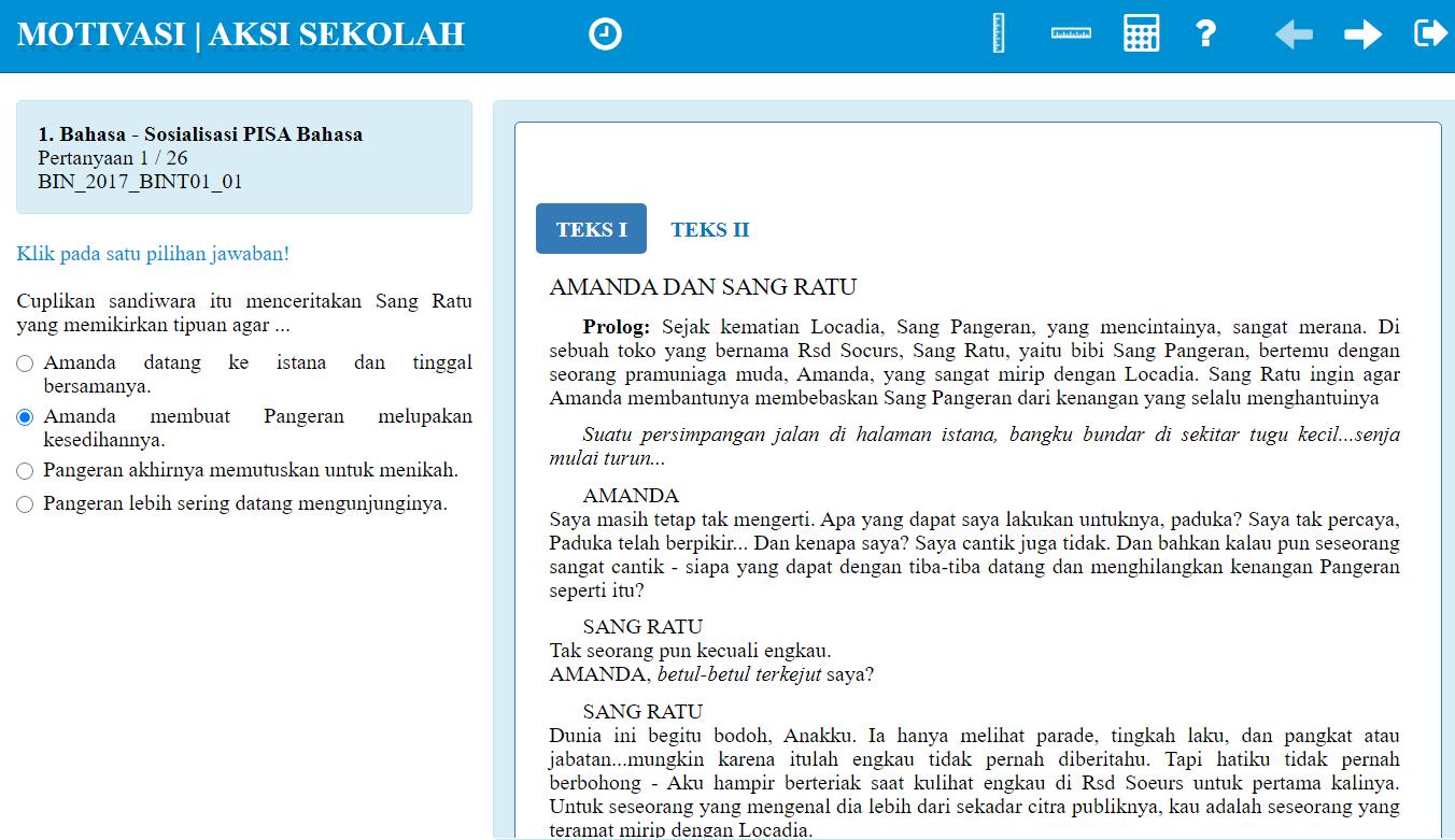 Kumpulan Soal Pisa Bahasa Indonesia Didno76 Com