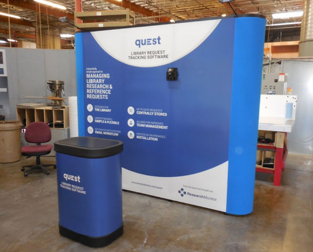 Pop-up Display Trade Show Booth Ideas