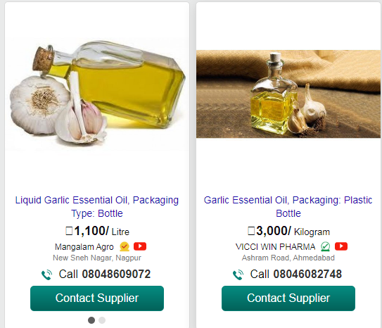work from home , work from home tips , garlic essential oil , low competition high profit business