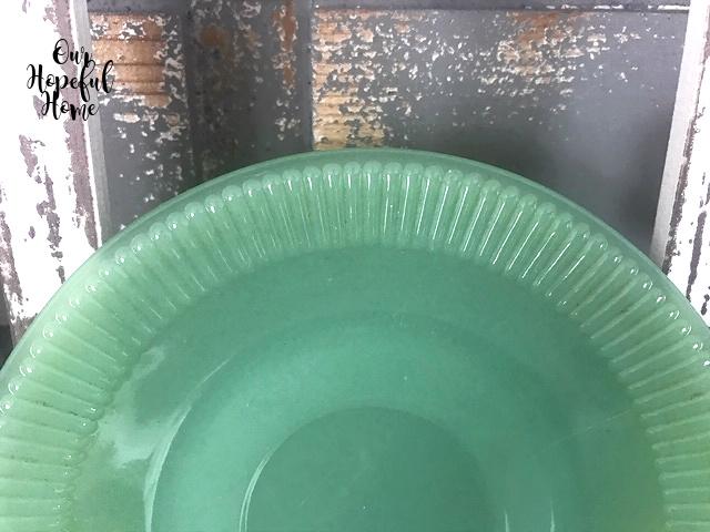 jadeite saucer